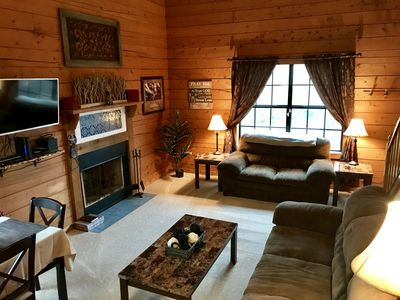 Photo for Woods Edge Cabin 4-4 - NO CLEANING FEES!! -Great Location-