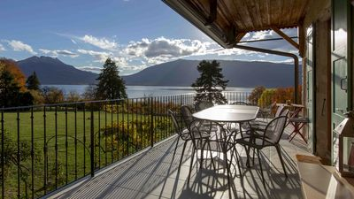 Photo for The Lake front Villa - Veyrier du lac