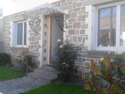 Photo for Ground floor of house (4/6 people) Saint Malo, 300 m beach of Paramé