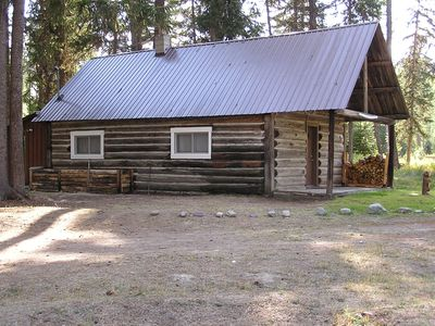 Photo for Real Log Cabin Near The Fisher River