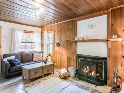 Photo for Cozy Vintage Cabin w/ Spacious Backyard, Two Decks - Completely Remodeled