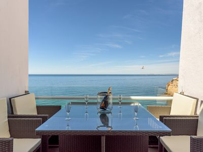 Photo for Luxury apartment  overviewing  the sea