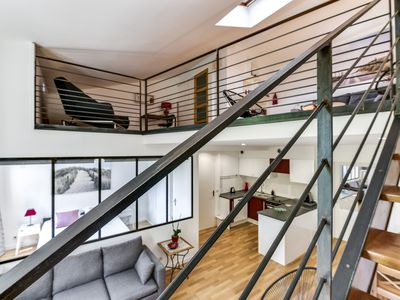 Photo for MONTPELLIER CENTER DUPLEX STYLE LOFT Preview Ad