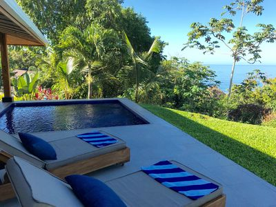 Photo for Secluded and luxurious villa with private pool. Amazing Jungle and sea views.