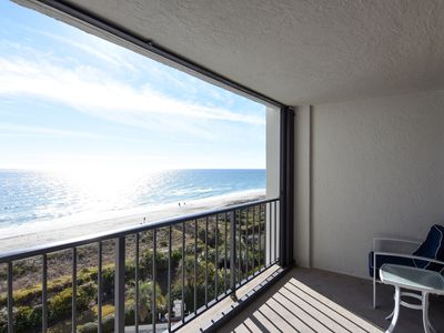 Photo for Station One-6G Pleasant-Oceanfront condo with community pool, tennis, beach
