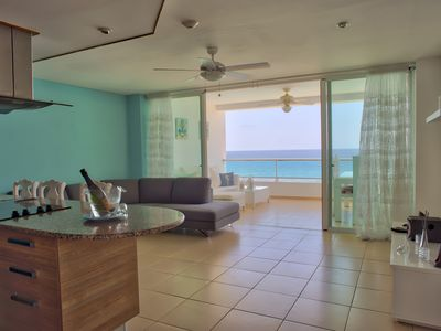Photo for Stunning Oceanfront Two Bedrooms Apartment (702)