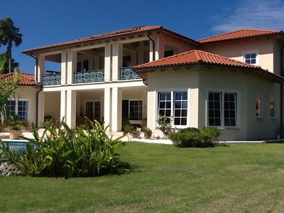 Photo for Guest-friendly Villa With Private Pool steps from the Beach In Central Cabarete