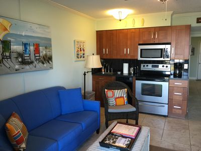 Photo for Barefoot Joy! - Gorgeous Views, Clean, Remodeled Beachfront Condo