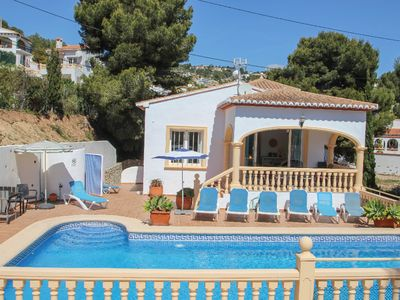 Photo for Hermosa - this lovely detached holiday property in Benissa