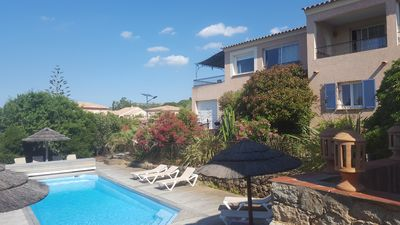 Photo for SUPERB APARTMENT WITH MAGNIFICENT VIEWS ON THE ISLANDS, THE SEA, CAP CORSE