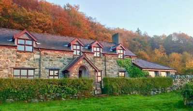 Photo for Detached Welsh Cottage. Quiet location with mountain & sea views. Sleeps 7.