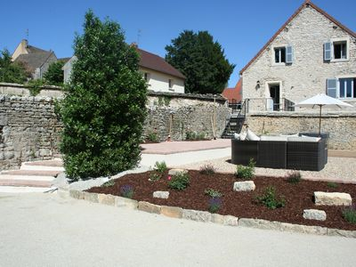 Photo for BURGUNDY MEURSAULT Luxury Stone House in Vigneron's Barn overlooking vines