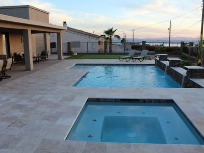 Photo for Resort Style, 2018 Home, Pool, Spa, Lake View, RV & 2 Car Garage, 3Bed/2Bath