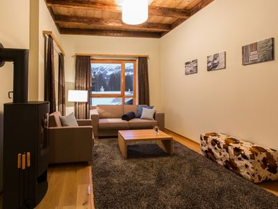Photo for Luxury 4-person apartment in the holiday park Landal Alpine Lodge Lenzerheide - in the mountains/rolling countryside