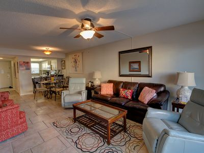 Photo for Gulf Front Condo w/Private Balcony, Pool, Grills, Private Beach Access, & More!