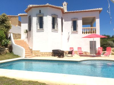 Photo for Modern Contemporary Detached Villa with Private Pool, Countryside Views