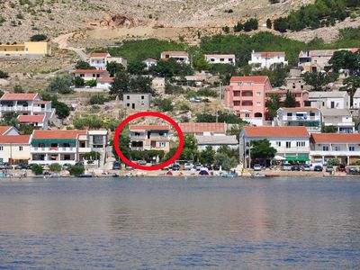 Photo for Apartment in Metajna (Pag), capacity 4+1