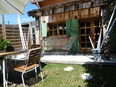 Photo for Chalet in the heart of the Bassin d'Arcachon