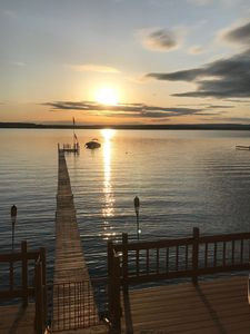 Photo for Sunsets on the Saratoga Lakefront!