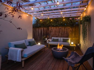 Photo for Newly furnished Venice Beach cottage 1/2 block to Abbot Kinney Blvd