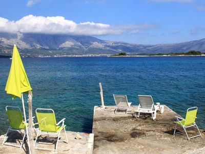 Photo for Seaside holiday house Lumbarda, Korčula (K-4422)