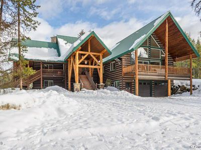 Photo for LUXURY PRIVATE LOG AND BEAM HOME