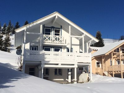 Photo for 5 rooms chalet on the heights of Flaine Station