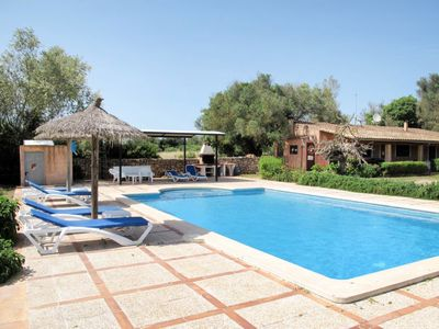 Photo for 3 bedroom Villa, sleeps 6 in Son Mesquida with Pool, Air Con and WiFi