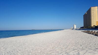 Sugarwhite sands & beautiful blue water offer one of the best beaches in America