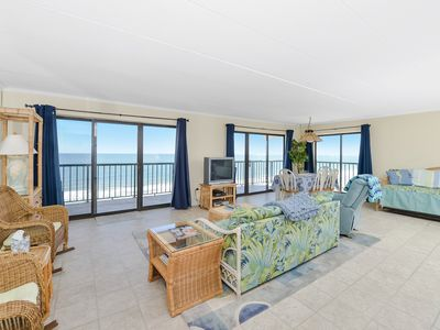 Photo for Amazing Panoramic Ocean Views From This 1 Bedroom, 1.5 Bathroom Corner Unit!