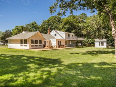 Photo for Beach House Overlooking Golf Course &  The Great South Bay Near Bellport Village