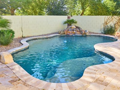 Photo for Gilbert Luxury Vacation Home-Heated Pool, Sleeps 12, Game Room, Theater Room