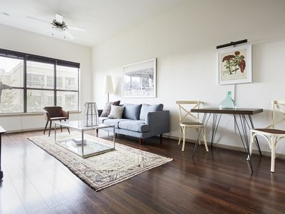 Photo for Sonder | Midtown | Airy 1BR + Pool