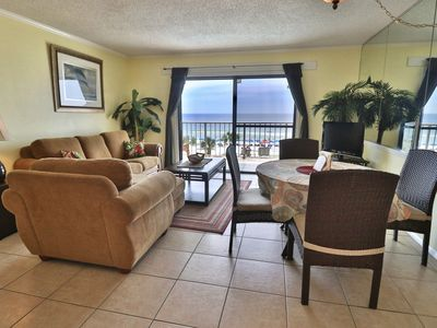 Photo for 4th floor Summit 1BR 1.5BA with great views of the Gulf!!