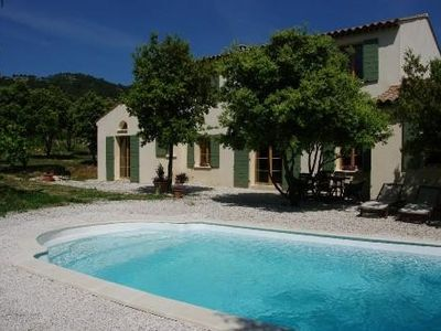 Photo for Magnificent Bastide in a green and tranquil setting.