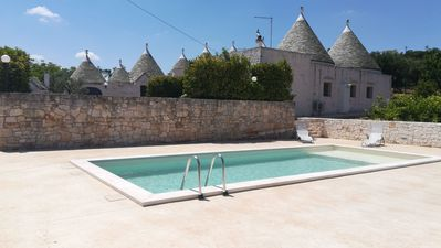 """Photo for TRULLI """"SOLE"""" IMMERSED IN THE HEART OF THE VALLE D'ITRIA"""