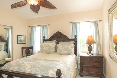 Tommy Bahama queen bedroom