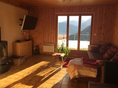 Photo for For rent apartment 2 rooms in Granges sur Salvan