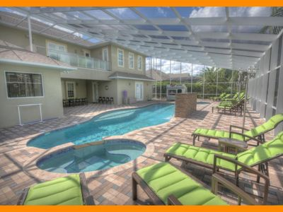 Photo for Formosa Gardens 18 - 5* villa with pool , game room & theater room near Disney