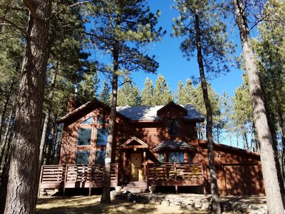 Photo for Beautiful Angel Fire mountain home within 10 minute walk to country club