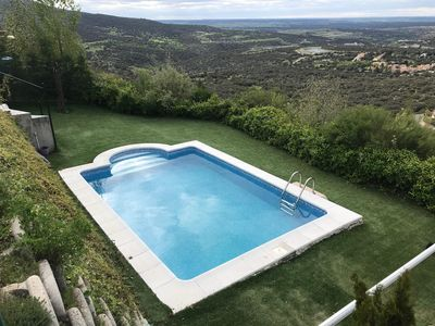 Photo for Wonderful house for 8 with stunning views and private pool