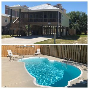 Photo for Great Location - Built in 2018 - Beach Minutes Away - Private Pool Area Fenced