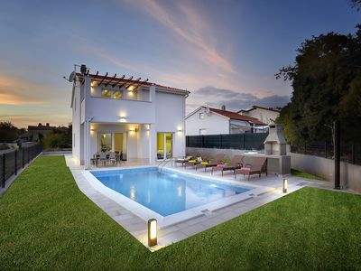 Photo for New Villa with private pool,sleeps 7,  fully climatized, 3 km from beach