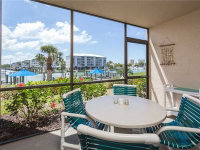 Photo for Estero Yacht & Racquet 218, Sleeps 4, 1 Bedroom, Canal View, Heated Pool