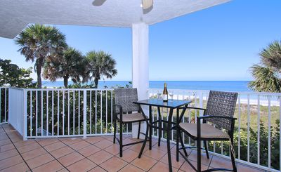 Photo for Beautiful Beachfront 3BR/2BA - Balconies overlooking Gulf & Intracoastal