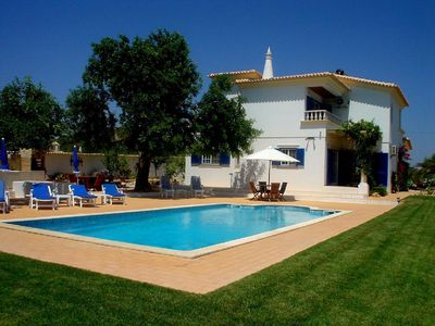 Photo for Villa with private heatable pool and panoramic rural views in peaceful location