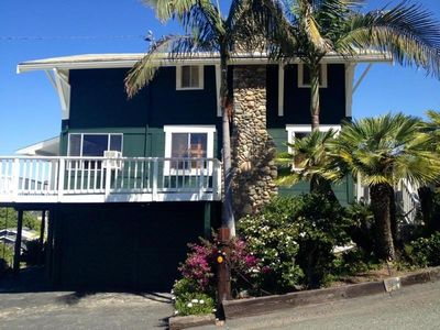 Photo for Walk to Beach from Ocean View Craftsman Beach Cottage in the Village