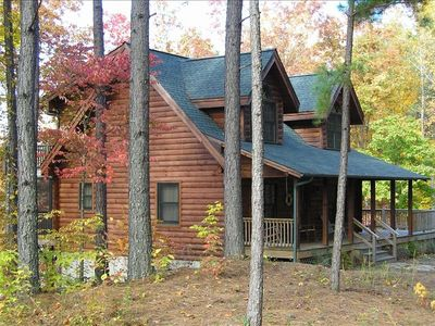 Photo for Lakefront Cabin at Hidden Lake (near Marion) Discounted Spring Rates!