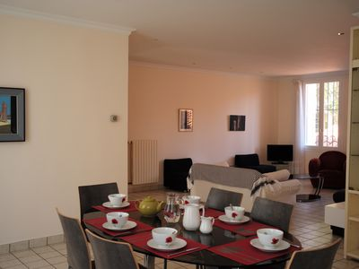 Photo for Beautiful and large apartment 4/6 persons, very bright, very center.