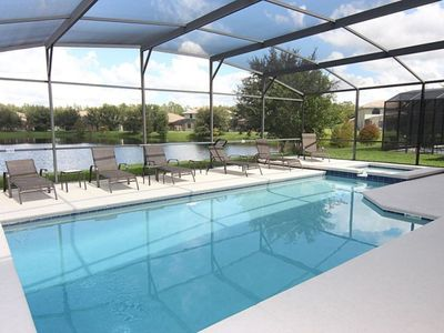 Photo for Luxurious 6 bedroom 4.5 bath Private pool home with game room